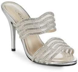 Caparros Luzy Rhinestone Stiletto Sandals