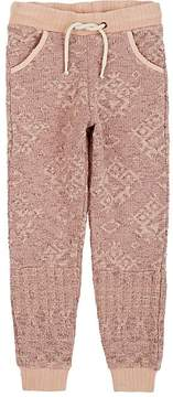 Scotch R'Belle KIDS' GEOMETRIC JACQUARD COTTON JOGGER PANTS