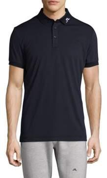 J. Lindeberg Golf Short-Sleeve Logo Polo