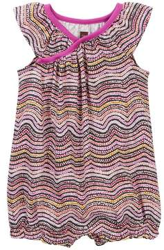 Tea Collection Fire Country Dreaming Wrap Neck Romper (Baby Girls)