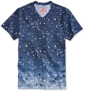 American Rag Men's Ombre Paint Splatter V-Neck T-Shirt, Created for Macy's