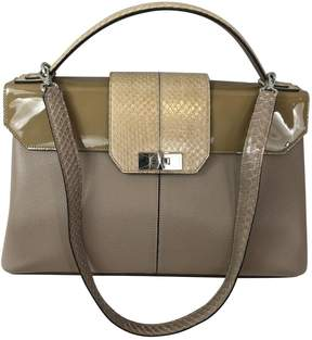 Cartier Beige Leather Handbag