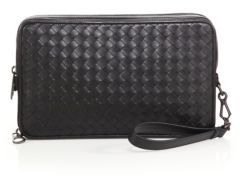 Bottega Veneta Woven Leather Document Case