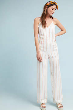 Anthropologie Essentials by The Essential Yarn-Dyed Jumpsuit