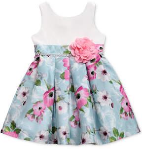 Sweet Heart Rose Floral-Print Dress, Little Girls