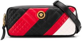Versace diagonal stripe belt bag