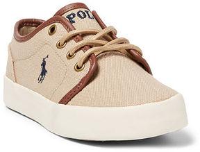Ralph Lauren Big Kid Ethan Low Canvas Sneaker
