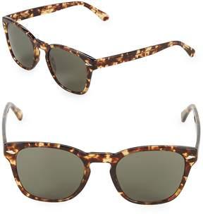 Zac Posen Women's Guerrino 50MM Square Sunglasses