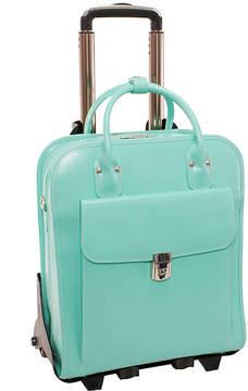 McKlein McKleinUSA La Grange 15.4 Leather Vertical Detachable -Wheeled Laptop Briefcase