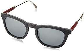Tommy Hilfiger 1383/S Sunglasses Gray / Black Mirror