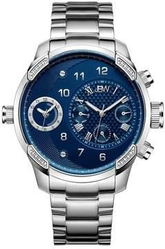 JBW Men's G3 Diamond Bracelet Watch - 0.16 ctw