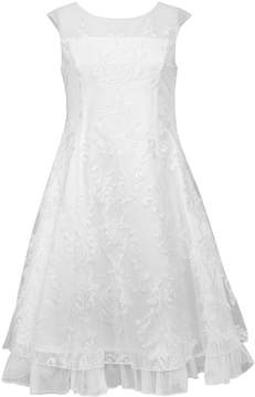 Bonnie Jean Girls 7-16 Sequin Embroidered Panel Dress