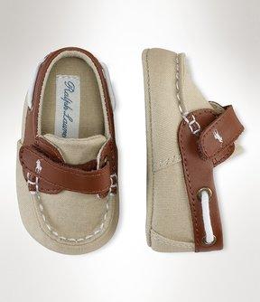 Ralph Lauren Boys' Canvas Sneakers
