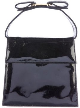 Salvatore Ferragamo Patent Leather Box Crossbody