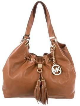 MICHAEL Michael Kors Grained Leather Shoulder Bag