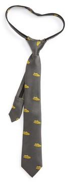 Nordstrom Boy's Car Silk Zip Tie