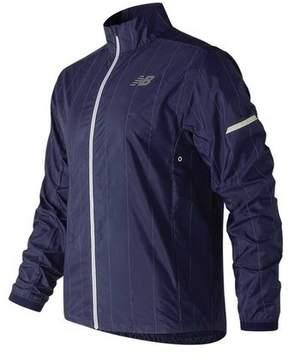New Balance Men's MJ81242 Reflective Pack Jacket