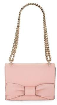 Kate Spade Marci Bow Leather Shoulder-Chain Bag - ROSE JADE - STYLE