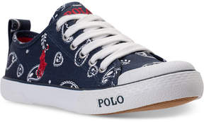 Polo Ralph Lauren Girls' Carlisle Iii Casual Sneakers from Finish Line