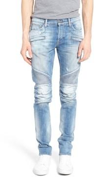 Hudson Men's Blinder Skinny Fit Moto Jeans
