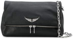 Zadig & Voltaire Zadig&Voltaire logo plaque shoulder bag