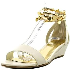 Thalia Sodi Womens Lordes Open Toe Casual Wedged Sandals.