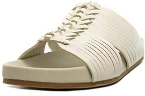 Nanette Lepore Magda Women Open Toe Synthetic White Slides Sandal.