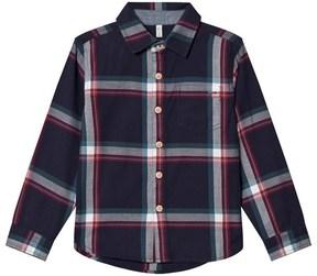 Joules Navy Check Shirt