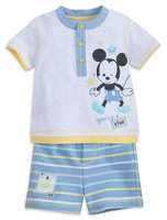 Disney Mickey Mouse T-Shirt and Shorts Layette Set for Baby