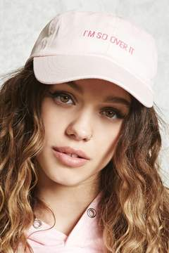 Forever 21 I'm So Over It Dad Cap