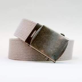 Blade + Blue Light Stone Cotton Web Military Belt
