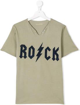Zadig & Voltaire Kids rock print T-shirt