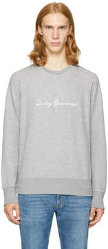 Rag & Bone Grey Quality Guaranteed Sweatshirt