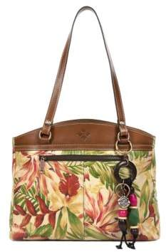 Patricia Nash Poppy Leather Tote Bag