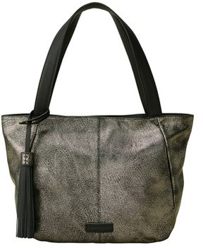 Liebeskind Berlin Louisville Metallic Leather Tote.