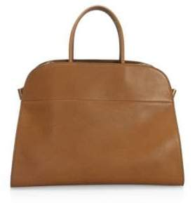 The Row Margaux 17 Top Handle Bag