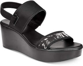 Alfani Women's Maybell Platform Wedge Sandals, Created for Macy's Women's Shoes