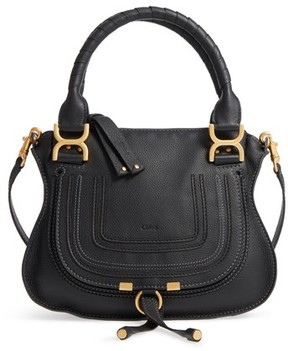 Chloé Marcie Small Double Carry Bag - Black