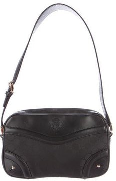 Gucci GG Canvas Shoulder Bag - BLACK - STYLE