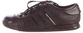 Y-3 Perforated Low-Top Sneakers