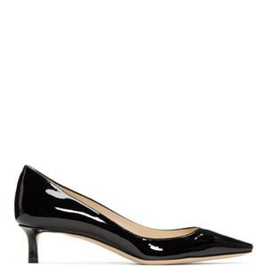 Jimmy Choo Black Patent Romy Heels