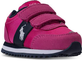 Polo Ralph Lauren Toddler Girls' Zaton Casual Sneakers from Finish Line