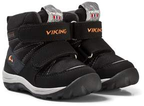 Viking Black and Orange RISSA GTX Boots