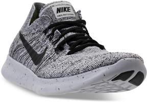 Nike Women's Free Run Flyknit 2017 Running Sneakers from Finish Line