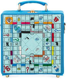 Olympia Le-Tan Paris Monopoly Game Board Box Shoulder Bag