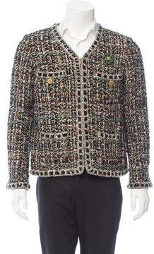 Chanel 2016 Paris-Rome Fantasy Tweed Jacket