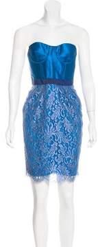 Matthew Williamson Linen & Silk-Blend Dress