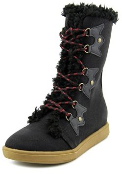 XOXO Andy Women Round Toe Synthetic Mid Calf Boot.