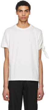 J.W.Anderson Off-White Tie Knot T-Shirt