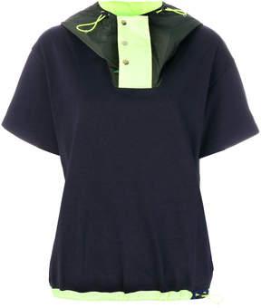 Kolor hood detail T-shirt